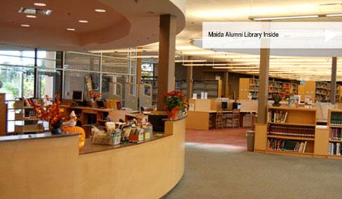 Maida Alumni Library Inside